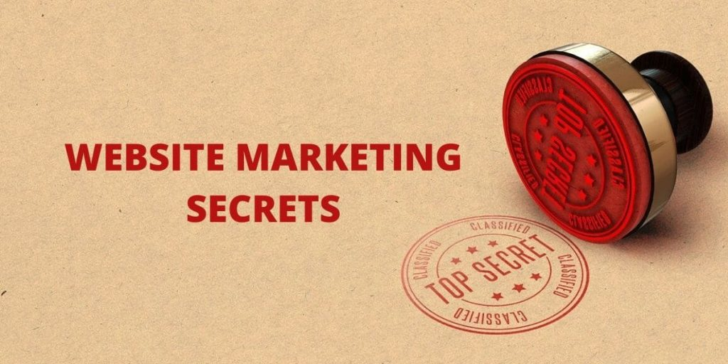 Website Marketing Secrets
